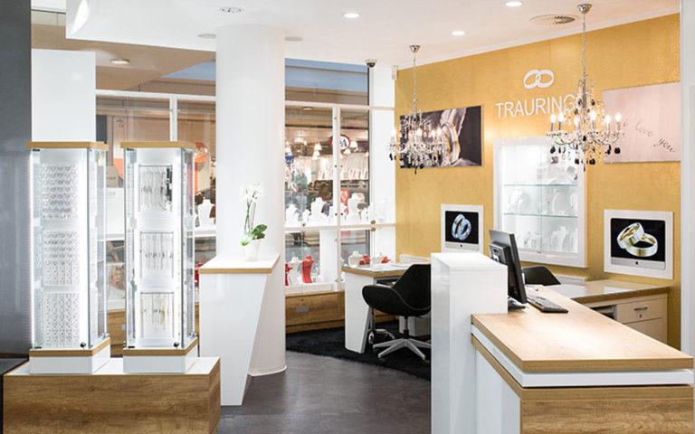 Store-Ansicht von Juwelier Rubin in Hamburg