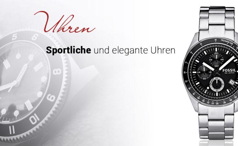 Uhren sportlich-elegant von Juwelier Rubin