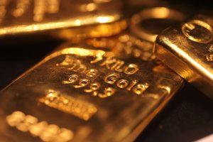 Goldbaren für den Goldankauf in Hamburg